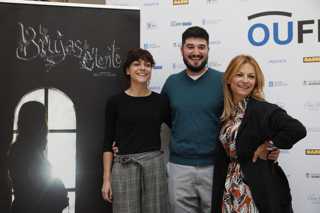 Paula Bañobre, Simón Vázquez, Isabel Blanco
