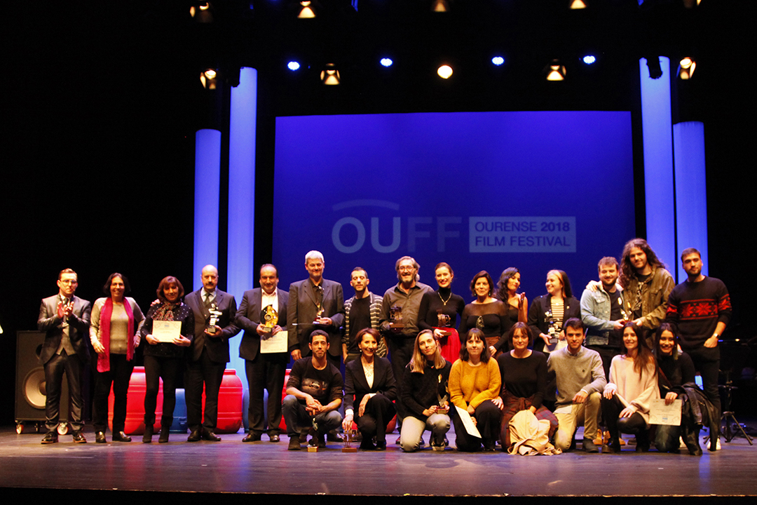 Todos los premiados del OUFF 2018