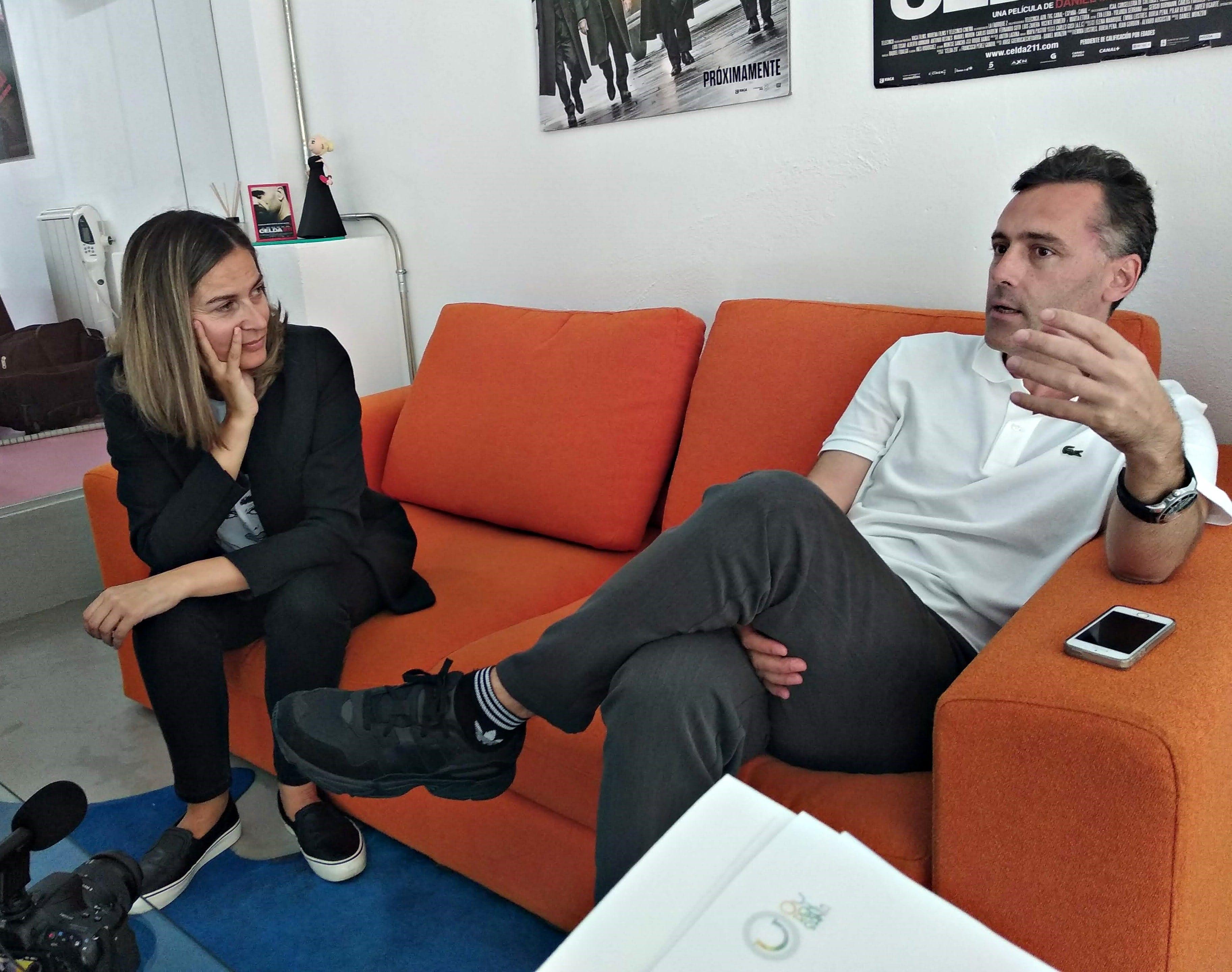 Emma Lustres y Borja Pena