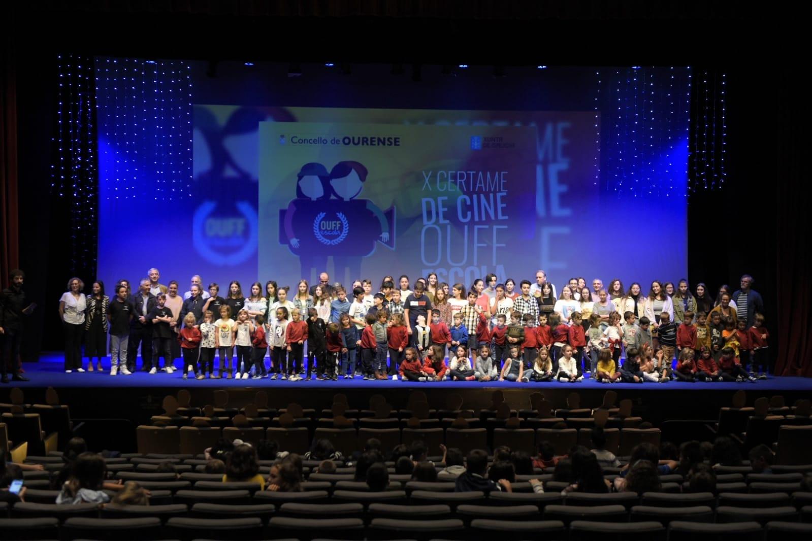 Gañadores da décima edición do OUFF Escola