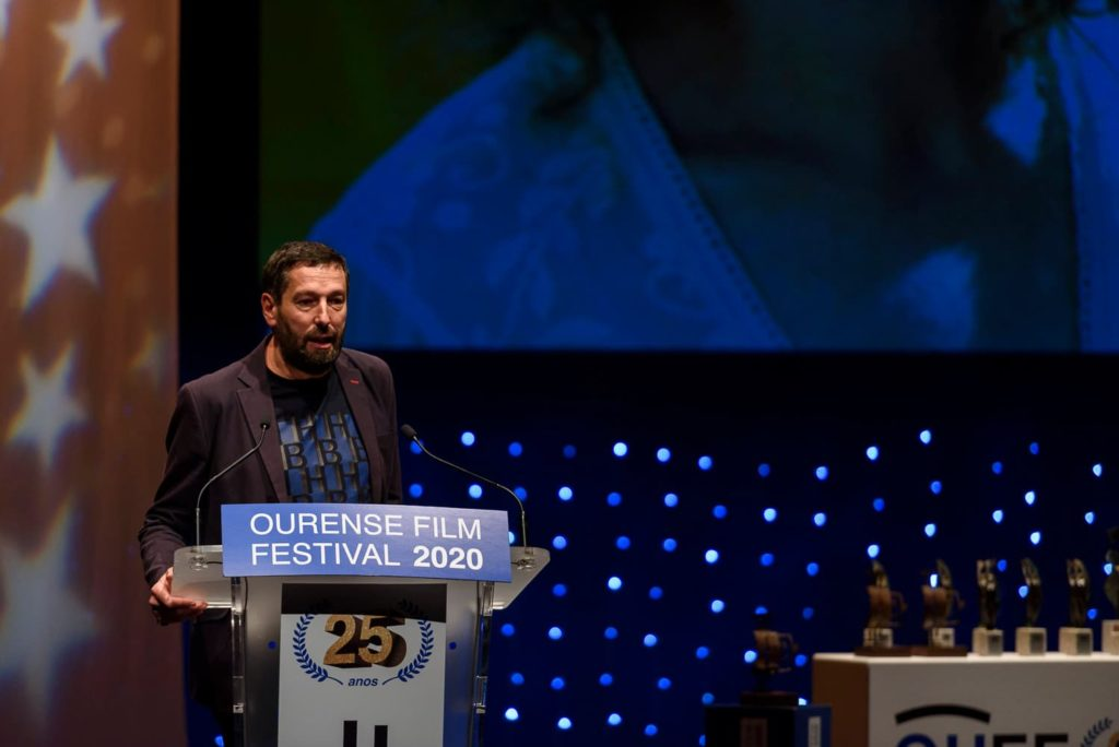 Alfonso Blanco, premio Ourense OUFF 2021