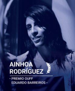 Premio Eduardo Barreiros para Ainhoa Rodríguez